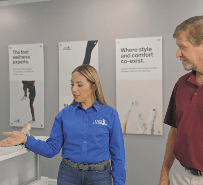 how foot solutions helps